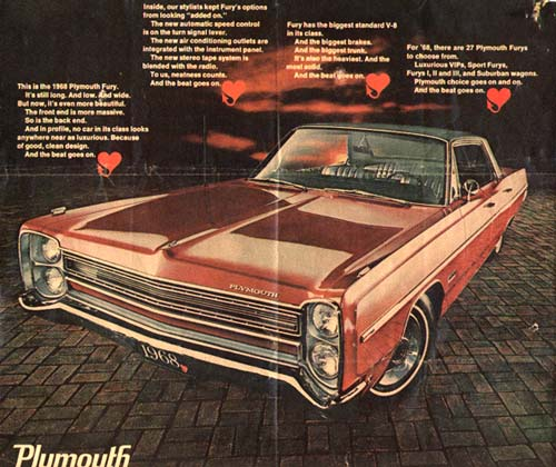 68 Plymouth Fury
