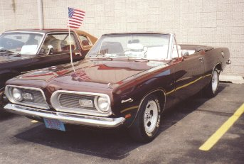 1969 Plymouth Barracuda Convertable
