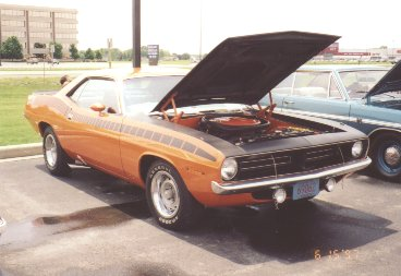 1970 AAR Plymouth Barracuda